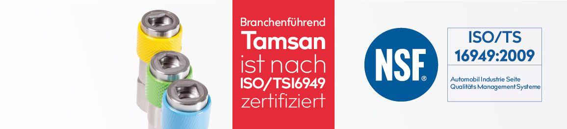 Branchenführend.Tamsan  <altSatir />istnachISO 16949 zertifiziert...
